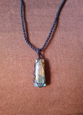 Picture of necklace with gemstone