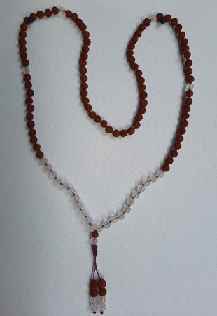 Picture of necklace mala